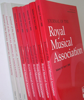 Volumes of the Journal of the Royal Musical Association
