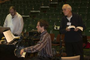 Composition workshop with Professor Michael Finnissy